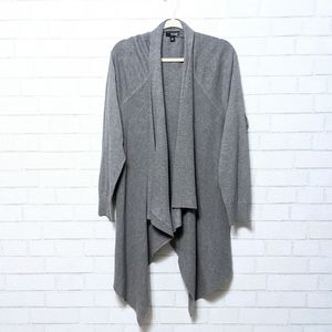NWT A.N.A Open Front Waterfall Cardigan Sweater 1X